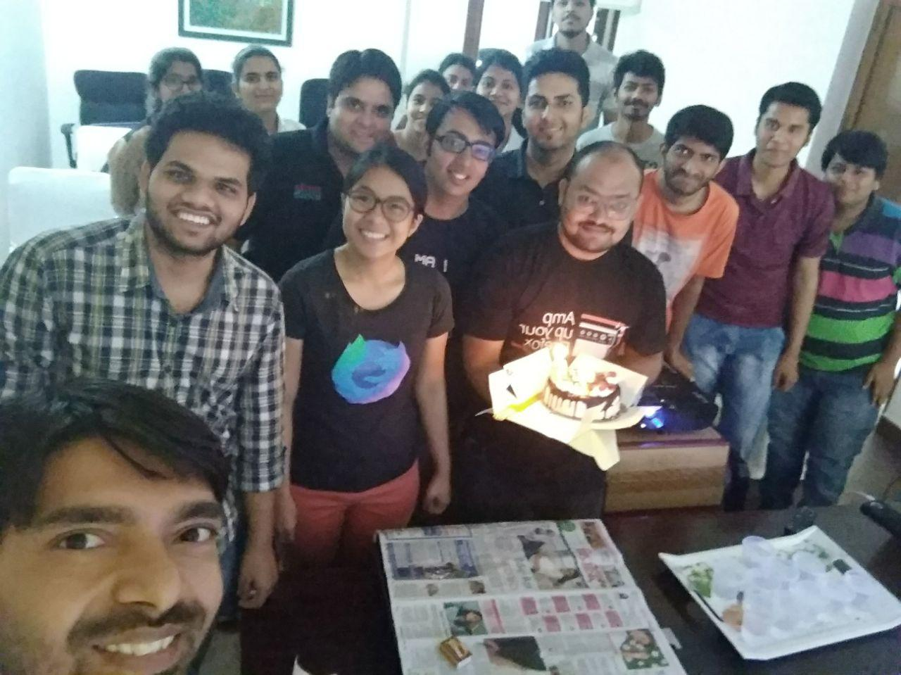Digital Security Training at Mozilla's 20th Anniversary Celebrations