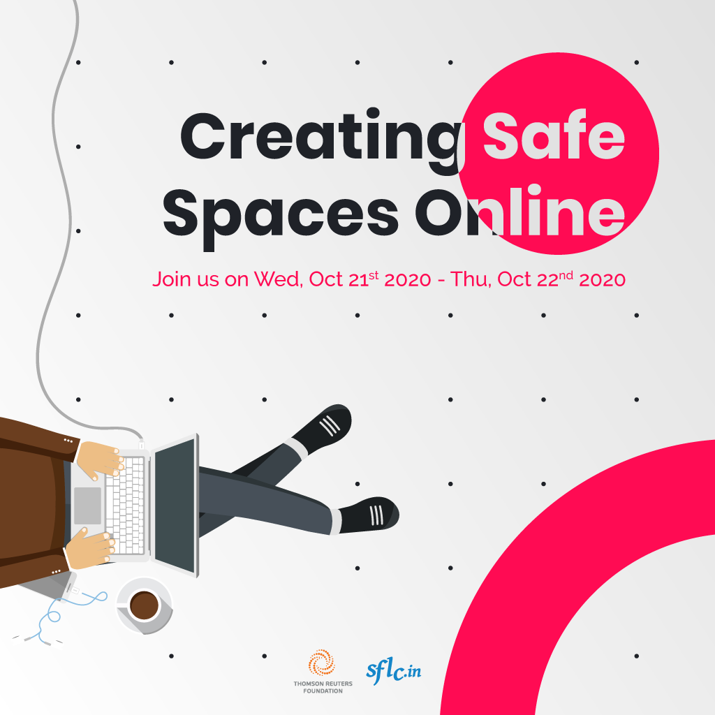 Creating safe spaces online