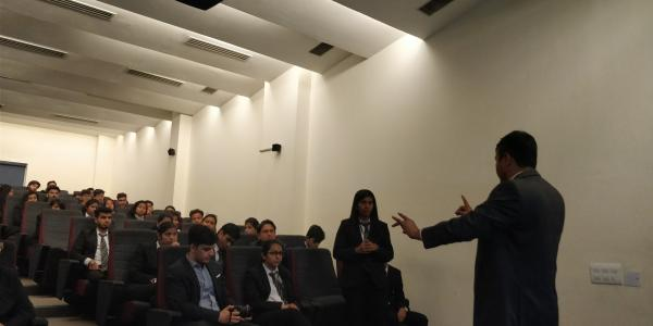 Interacting with law students