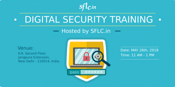 Digital Security Training for Lawyers - May 26, 2018