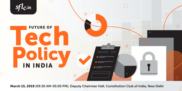 Poster for Conference on Future of Tech Policy in India