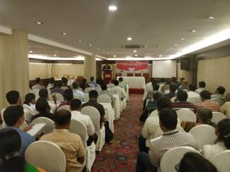 People attending public discussion on 'Privacy & Data Protection: The Road Ahead' in Kochi