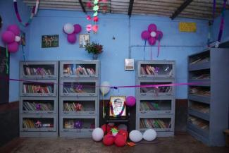 Library At Ambedkar Community Computing Center