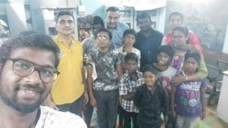 SFLC.in's Executive Director Sundar Krishnan and Ex-executive Director Biju K. Nair have met students and volunteers from Ambedkar Community Computing Center (AC3) on April 26th 2019