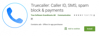 Truecaller on the Play Store