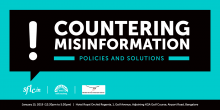 Countering Misinformation: Policies and Solutions, Bangalore